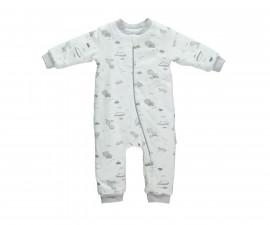 бебешка пижама-гащеризон с цип Free Animal, марка Bebetto, фабр.№ T2143, унисекс, 9-36 м.