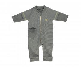 бебешки гащеризон с цип Good Luck, марка Bebetto, фабр.№ K2797, момче, 3-18 м.