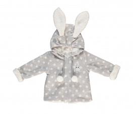 ватирано бебешко палто с качулка и цип Baby Bunny, марка Bebetto, фабр.№ K2758g, момиче, 6-24 м.