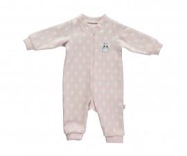 бебешки гащеризон с цип Baby Bunny, марка Bebetto, фабр.№ T2228, момиче, 3-18 м.