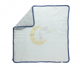 памучно подплатено бебешко одеяло Confetty Party, марка Bebetto, фабр.№ B649, момче, 80 х 85 см.