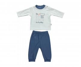 бебешка пижама 2 части Confetty Party, марка Bebetto, фабр.№ F1064, момче, 3-18 м.
