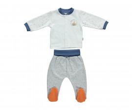 бебешка пижама с ританка 2 части Confetty Party, марка Bebetto, фабр.№ F1065, момче, 0-9 м.