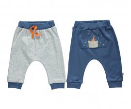 памучни бебешки панталони Confetty Party, марка Bebetto, фабр.№ T2033, момче, 3-18 м., 2 бр.