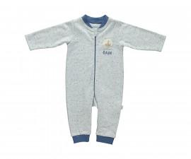 бебешки гащеризон с цип Confetty Party, марка Bebetto, фабр.№ T2037, момче, 3-18 м.
