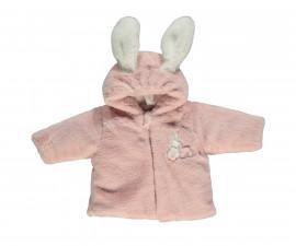 ватирано бебешко яке с качулка Happy Rabbit, марка Bebetto, фабр.№ K2860, момиче, 3-18 м.