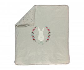 памучно подплатено бебешко одеяло Sweety, марка Bebetto, фабр.№ B671, момиче, 80 х 85 см.