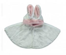 бебешка пелерина с качулка Happy Rabbit, марка Bebetto, фабр.№ K2808e, момиче, 6-36 м.