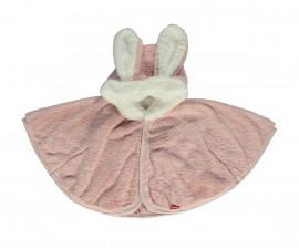 бебешка пелерина с качулка Happy Rabbit, марка Bebetto, фабр.№ K2808, момиче, 6-36 м.