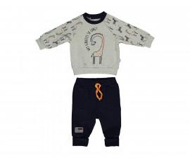 бебешки комплект блуза с панталон Zabra or Giraffe, марка Bebetto, фабр.№ K2958, момче, 6-24 м.