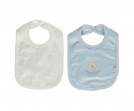 Bebetto Little Bears Cotton Baby Bib 2 Pcs - C733-3+M