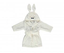 Bebetto Gentleman Rabbit Woven Baby Bathrobe - H410-4/5Y