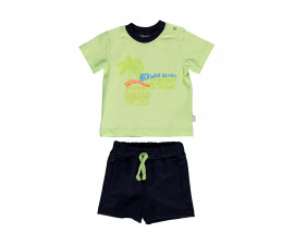 Bebetto Surfing Club Cotton Baby 2 Pcs Set (T-Shirt+Shorts Pant) - K2997