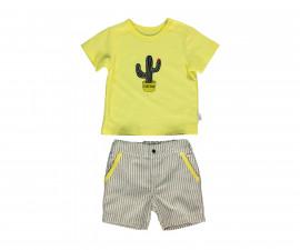 Bebetto Free Hugs Baby 2 Pcs Set (T-Shirt+Pants Short) - K3007