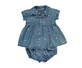 Bebetto Daisy World Baby 2 Pcs Set (Dress+Underwear) - K3048
