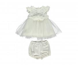 Bebetto Little Daisy Weaving Baby Dress 2 Pcs (Dress+Underwear) - K3098