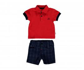 Bebetto Stylish Boy Weaving Baby 2 Pcs Set (T-Shirt+Pants Short) - K3125