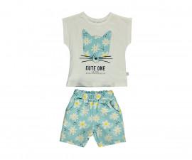 Bebetto Cute One Cotton Baby 2 Pcs Set (T-Shirt+Short Pants) - K3149