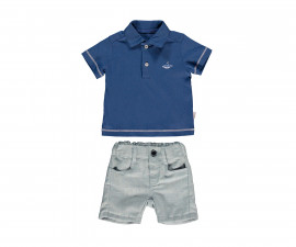 Bebetto Whale Baby 2 Pcs Set (T-Shirt+Pants Short) - K3160