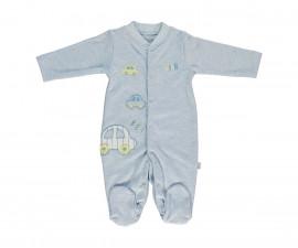 Bebetto Dear Car Cotton Baby Romper W/Feet - T2292