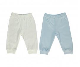 Bebetto Little Bears Cotton Baby Pants 2 Pcs - T2301