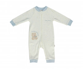 Bebetto Little Bears Cotton Baby Romper W/O Feet - T2305