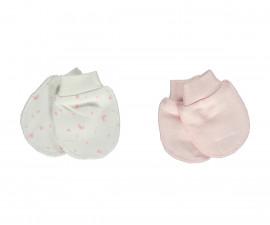 Bebetto My Dream World Cotton Baby Mittens 2 Pcs - T2337-0/3M