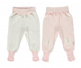 Bebetto My Dream World Cotton Baby Pants W/Socks 2 Pcs - T2406