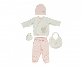 Bebetto My Dream World Cotton Baby Newborn Set 5 Pcs - Z713-0/3M