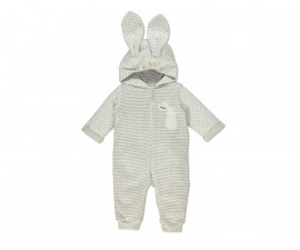 Bebetto Always Together Quilted Baby Romper W/Hood W/O Feet - K3222