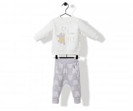 Bebetto Bears Baby 2 Pcs Set (Swaetshirt+Pants) - K3175
