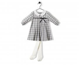 Bebetto College Girl Baby 2 Pcs Set (Dress+Pant Hose) - K3229