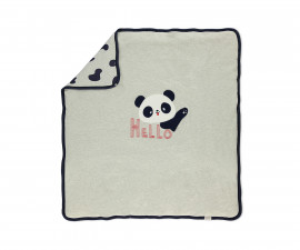 Bebetto Confused Panda Cotton Padded Baby Blanket - B702