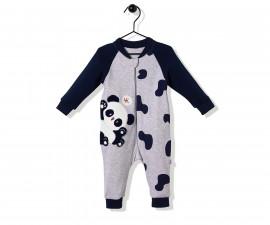 Bebetto Confused Panda Cotton Baby Romper W/O Feet - T2501