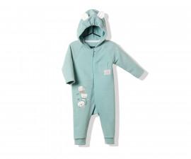 Bebetto Cool Friends Cotton Baby Romper W/Hood - K2801