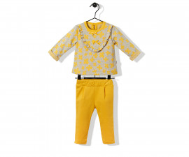 Bebetto Flowery Baby 2 Pcs Set (Sweatshirt+Pants) - K2856