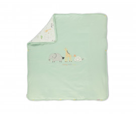 Bebetto Funny Safari Cotton Baby Padded Blanket - B705m