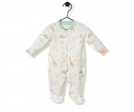 Bebetto Funny Safari Cotton Baby Romper - T2496
