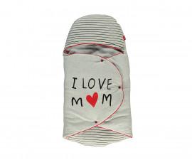 Bebetto Mum & Dad 21 Cotton Padded Baby Swaddling Cloth - P434
