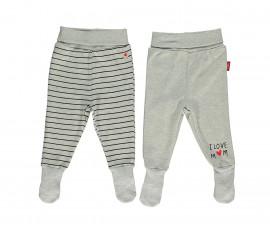Bebetto Mum & Dad 21 Cotton Baby Pants W/Socks 2 Pcs - T2411