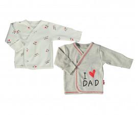 Bebetto Mum & Dad 21 Cotton Padded Overtap 2 Pcs Pack - T2412