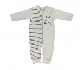 Bebetto Mum & Dad 21 Cotton Baby Romper W/O Feet - T2414