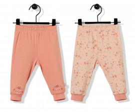 Bebetto Naturel Home Cotton Baby Pants W/Feet - T2480