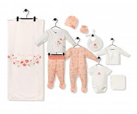 Bebetto Naturel Home Cotton Baby Newborn Set 10 Pcs - Z731