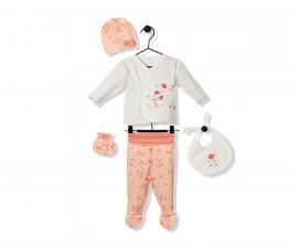 Bebetto Naturel Home Cotton Baby Newborn Set 5 Pcs - Z732