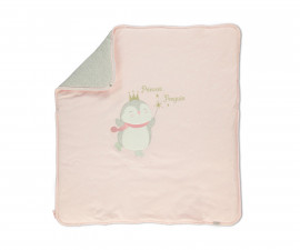 Bebetto Princess Penguin Cotton Padded Baby Blanket - B708