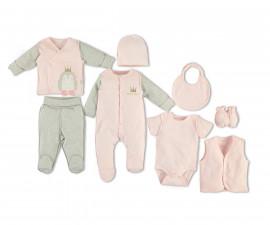 Bebetto Princess Penguin Cotton Baby Newborn Set 8 Pcs - Z746