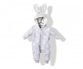Bebetto Rabbit Velveteen Baby Romper W/O Feet - K2819
