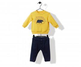 Bebetto Style Baby'20 Baby 2 Pcs Set (Swaetshirt+Pants) - K2866