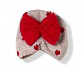 Bebetto Sweet Heart Cotton Baby Cap - C741r